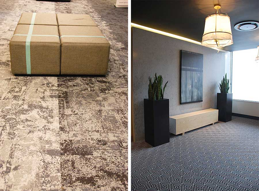KBAC Flooring supplied a variety of carpets for the new luxury hotel serving the Century City Conference Centre.