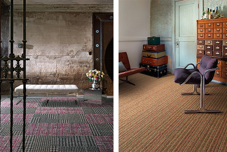Interface's new World Woven flooring range recalls memories of some of the most enduring textiles of the past. World Woven is distributed in South Africa by KBAC Flooring.